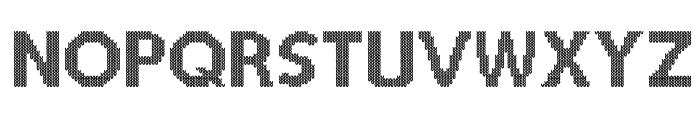 Christmas Jumper Font UPPERCASE