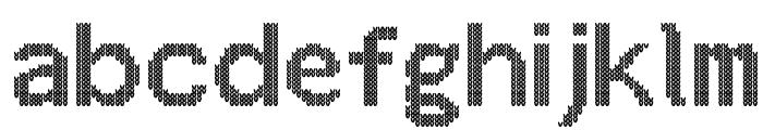 Christmas Jumper Font LOWERCASE