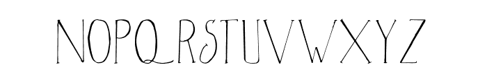 Christmas Season Font LOWERCASE