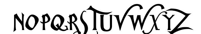 ChristmasCarol Font UPPERCASE