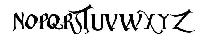 ChristmasCarol Font LOWERCASE