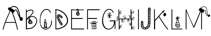 ChristmasEve Font UPPERCASE