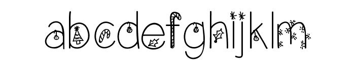 ChristmasEve Font LOWERCASE