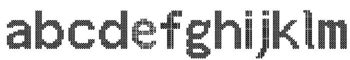 ChristmasJumper Font LOWERCASE