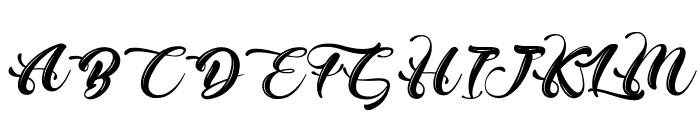 ChristmasinFinland Font UPPERCASE