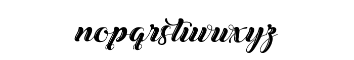 ChristmasinFinland Font LOWERCASE