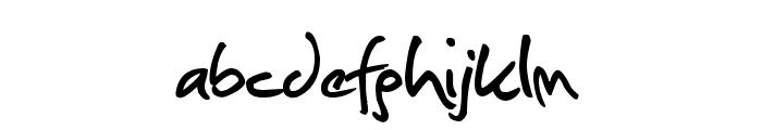 Christopherhand Font LOWERCASE