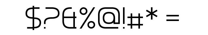 Chrobot Font OTHER CHARS
