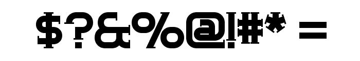 ChromeYellow Font OTHER CHARS