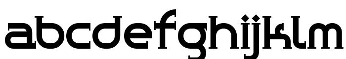 ChromeYellow Font LOWERCASE