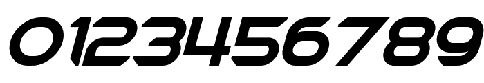 Chromia Supercap Bold Italic Font OTHER CHARS