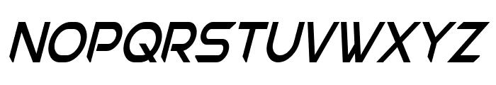 Chromia Supercap Condensed Italic Font UPPERCASE
