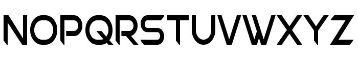 Chromia Supercap Condensed Font UPPERCASE