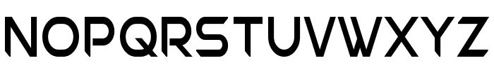 Chromia Supercap Condensed Font LOWERCASE