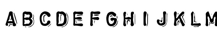 ChromosomeHeavy Font UPPERCASE