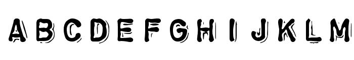 ChromosomeHeavy Font LOWERCASE