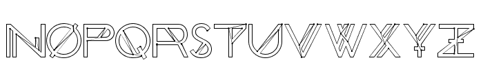 Chronic Cosmos Font LOWERCASE