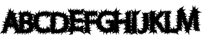 ChronicHarvest Font UPPERCASE