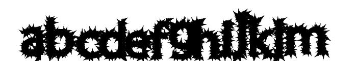 ChronicHarvest Font LOWERCASE