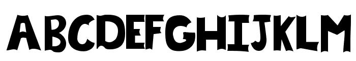 Chrysalis Filled Font UPPERCASE