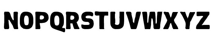 Chubby-Regular Font LOWERCASE