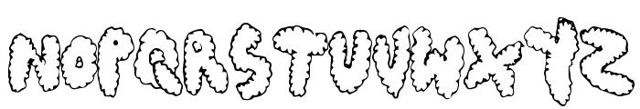 ChubbyMuffin Font UPPERCASE
