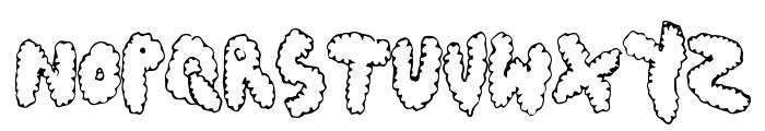 ChubbyMuffin Font LOWERCASE
