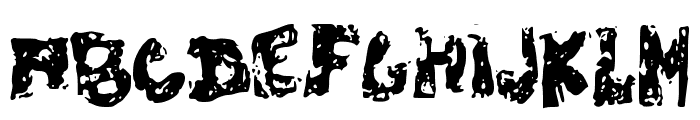 ChubbyPoof Font UPPERCASE