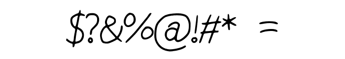 Chubby_Bunny Font OTHER CHARS