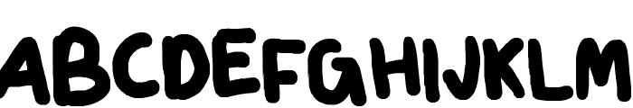Chubster Font UPPERCASE