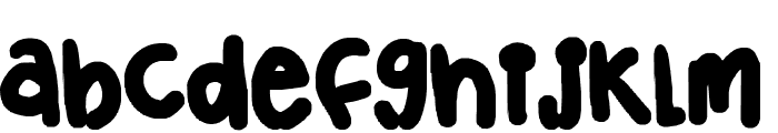 Chubster Font LOWERCASE