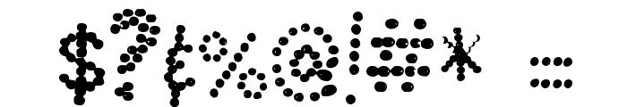 Chummmmmley Font OTHER CHARS