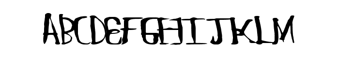 ChungFlew Font UPPERCASE