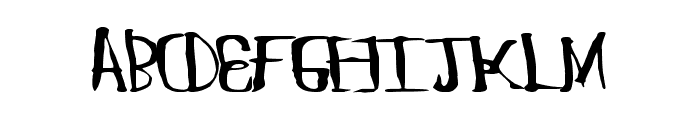 ChungFlew Font LOWERCASE