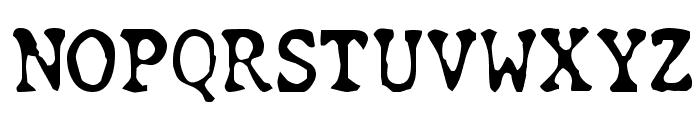 Chunk Type Font UPPERCASE