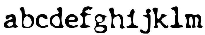 Chunk Type Font LOWERCASE