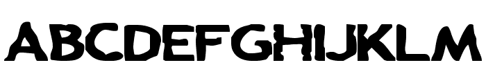 Chunk-a-Chip Font UPPERCASE
