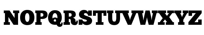 ChunkFive Regular Font UPPERCASE