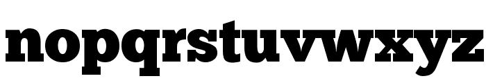 ChunkFive Regular Font LOWERCASE