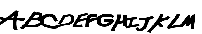 Chunkmuffin Black Font UPPERCASE