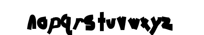 Chunkmuffin Heavy Font LOWERCASE
