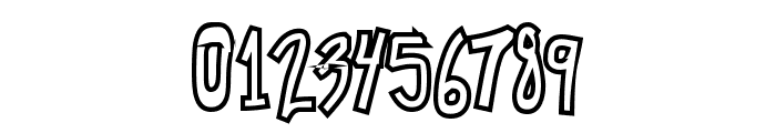 Chunkmuffin HollowThick Font OTHER CHARS