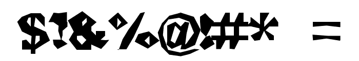 ChunkoBlocko Font OTHER CHARS