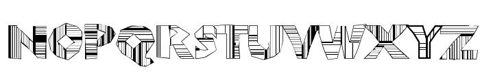 ChunkoBlockoDroppoCapo Font LOWERCASE
