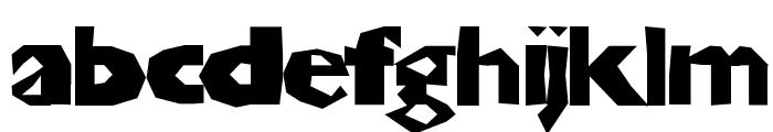 ChunkoBlocko Font LOWERCASE