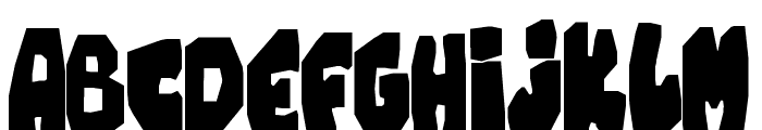 Chunky Cheese Font UPPERCASE