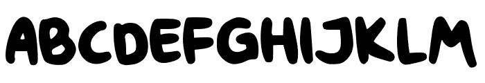 Chunky Rosie Demo Font LOWERCASE