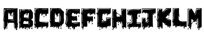 Chunq Dipped Font UPPERCASE