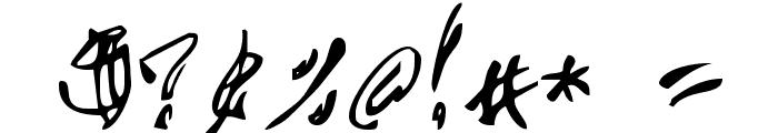 Chupa10 Font OTHER CHARS