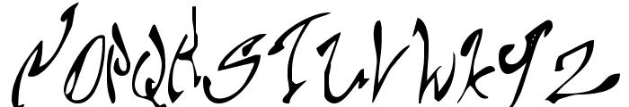 Chupa10 Font UPPERCASE